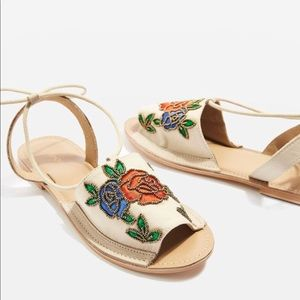 Topshop Rose Embodied sandals
